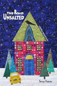 Cover quilt for The Road Unsalted by Nancy Graham, all rights reserved